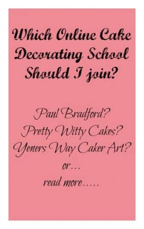 Online Cake Decorating Schools