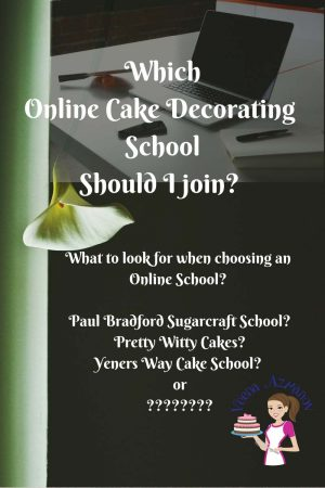 Which Online Cake Decorating Schools Should I join?