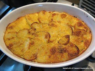Turkey and Potato Bake