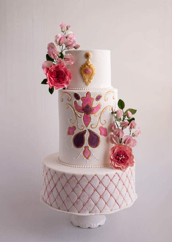 average height of a 3 tier wedding cake how to make cakes or extended height cakes veena 10924