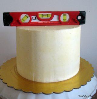 Sharp Edges Buttercream Round Cakes