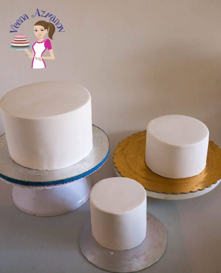 What Cakes Can You Cover With Fondant