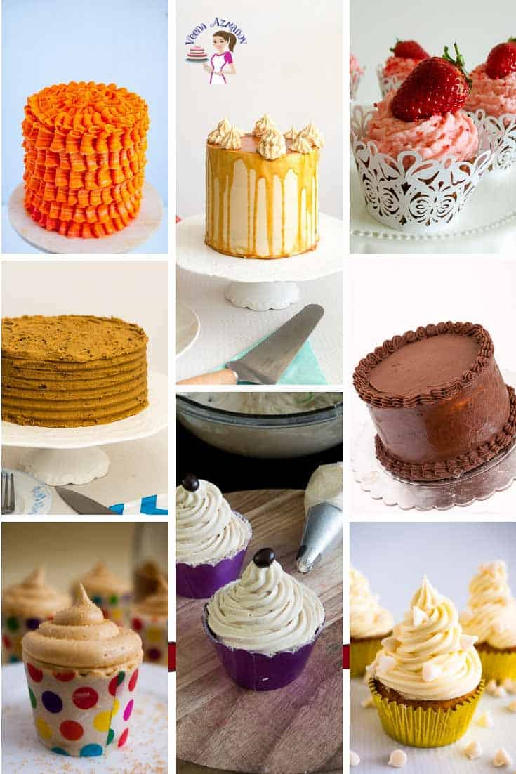 Learn how to make many different buttercream flavors from one buttercream recipe.