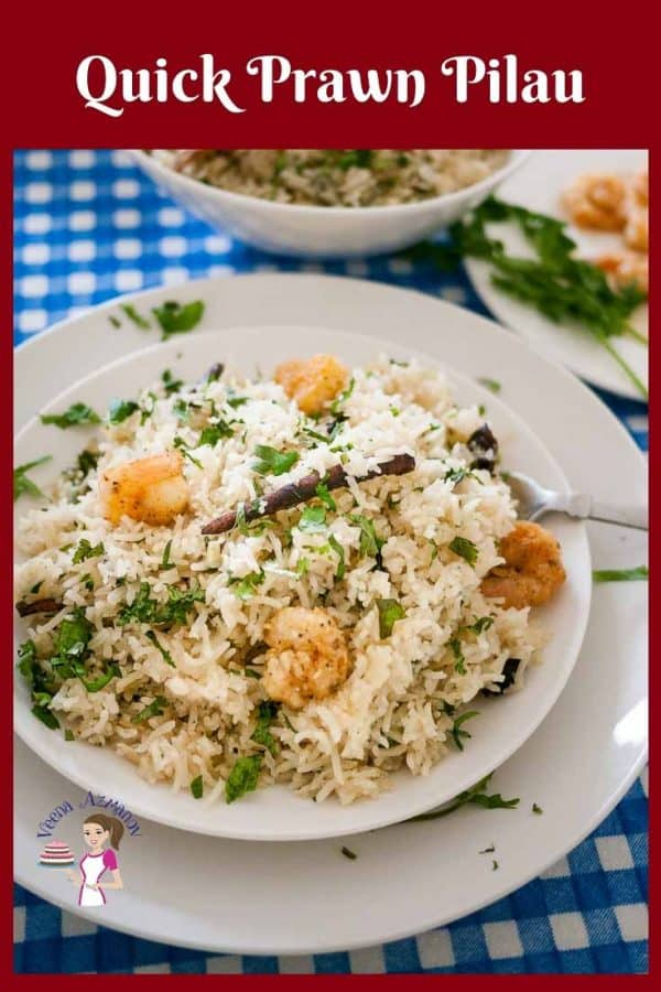 How to make a quick rice with Prawns