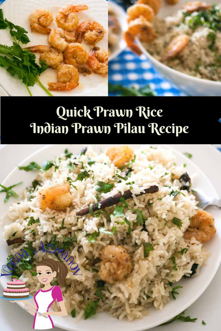 One of my time saving and fun meal is this quick prawn rice, it's the quickest meal you can make for your family in 20 minutes.  A delicious Indian Prawn Pilau recipes is a perfect one pot meal and a blessing to busy and working moms like me.