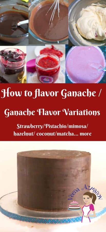How to flavor ganache.