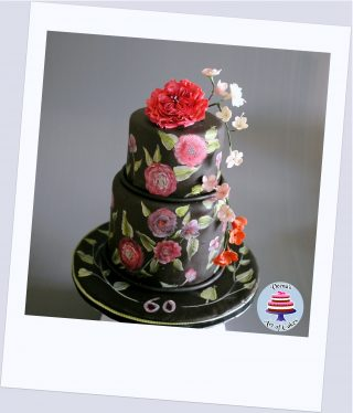Hand Painting on Cakes