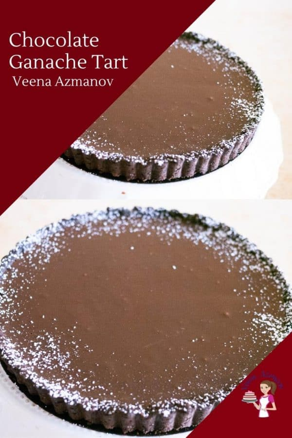Homemade Chocolate Tart with Ganache