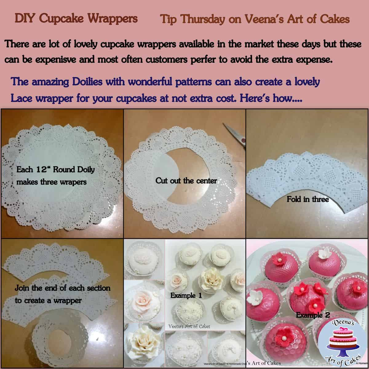 DIY Easy Cupcake Wrappers