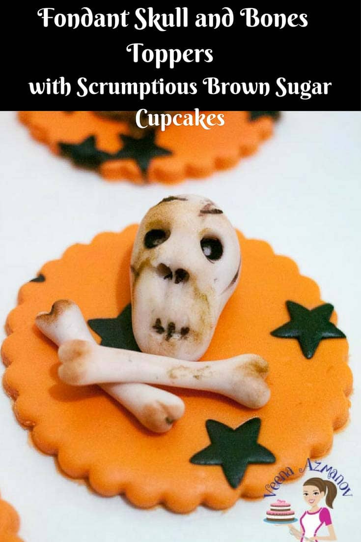 Nothing makes kids more excited then to have some Halloween inspired cupcakes with spooky cupcake toppers. These Halloween Skull and Bones Cupcake Toppers are bound to do the trick. Simple easy to create with no special equipment needed.