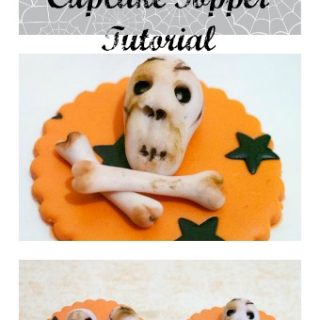 The most common; simple and easy cupcake topper that everyone loves during Halloween is Skull and Bones Cupcake toppers. Just so perfectly Halloween; don't you think?
