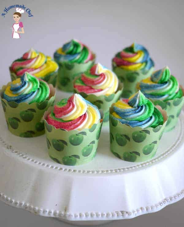 Quick and Easy One Bowl Vanilla Cupcakes is a great treat for a simple evening tea, last minute kids play dates or decorated beautifully for party celebration. These also make a great project for kids activities.