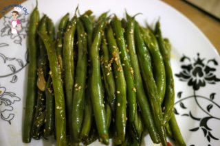 Quick and Easy Sesame Green Beans