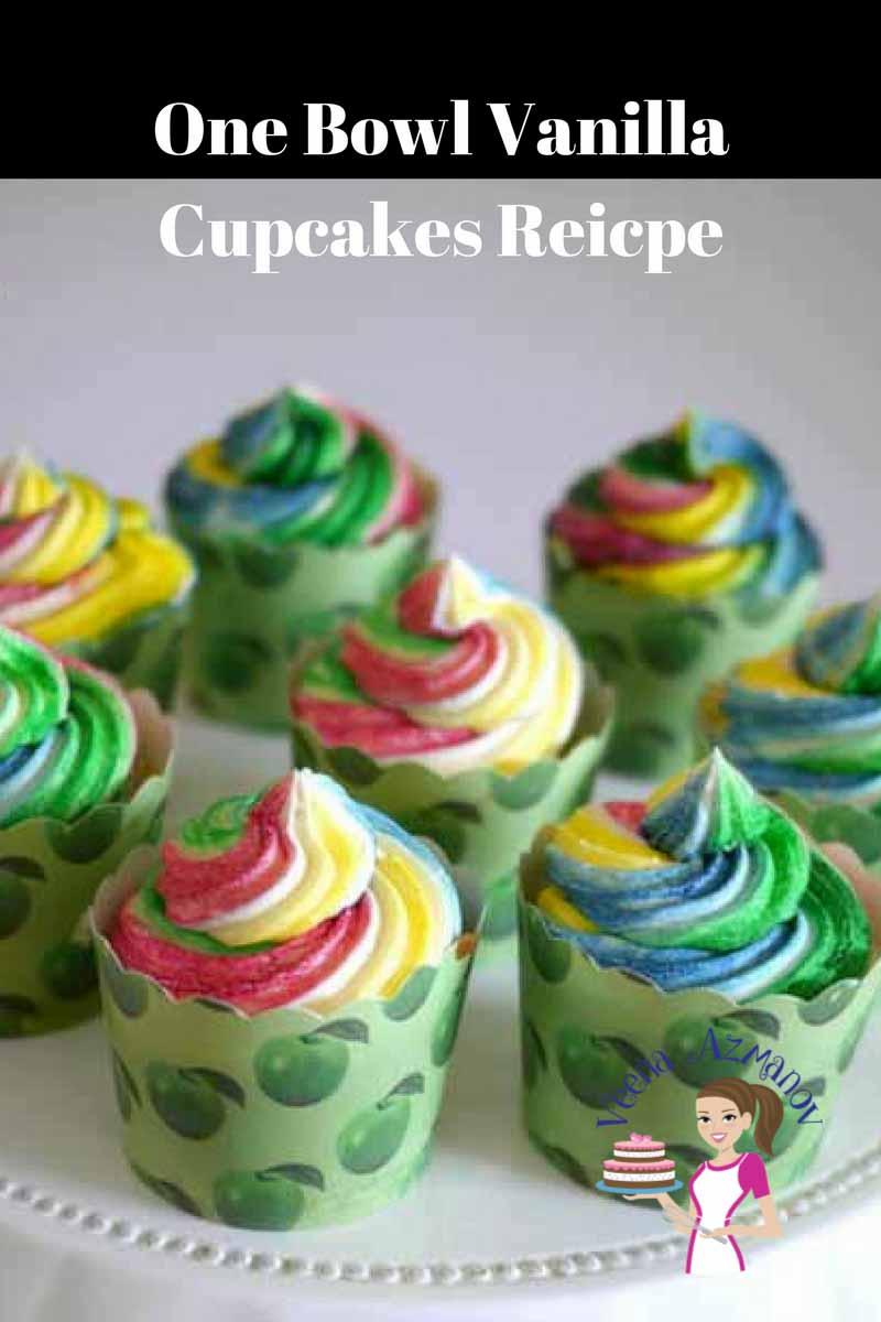 Quick and Easy One Bowl Vanilla Cupcakes Recipes