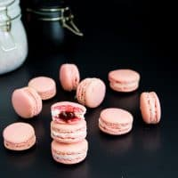 Strawberry French Macarons - Fail Proof Method