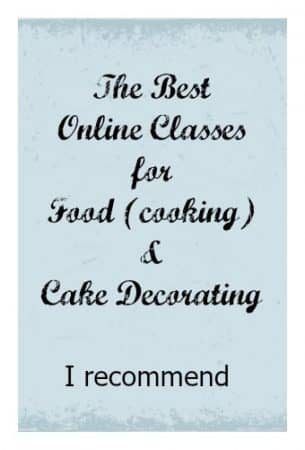 The Best Online Classes for Food and Cake Decorating