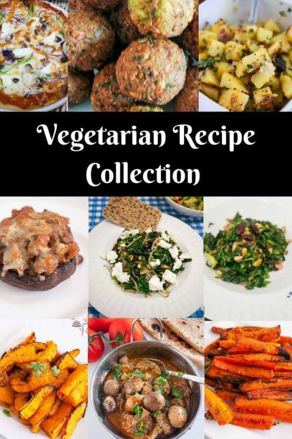 Vegetarian Recipes by Veena Azmanov from simple baked carrots to exotic mushroom masala.