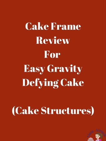 Cake Frame for easy gravity defying cakes
