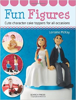 This is the perfect book for anyone who wants to learn modeling sugar figures for cake decorating. This book is packed with step by step and detailed instructions by Lorraine McKay a popular cake artist who travels world wide teaching cute sugar figures.