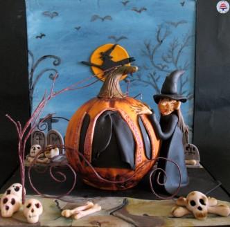Halloween Witches Pumpkin (35)