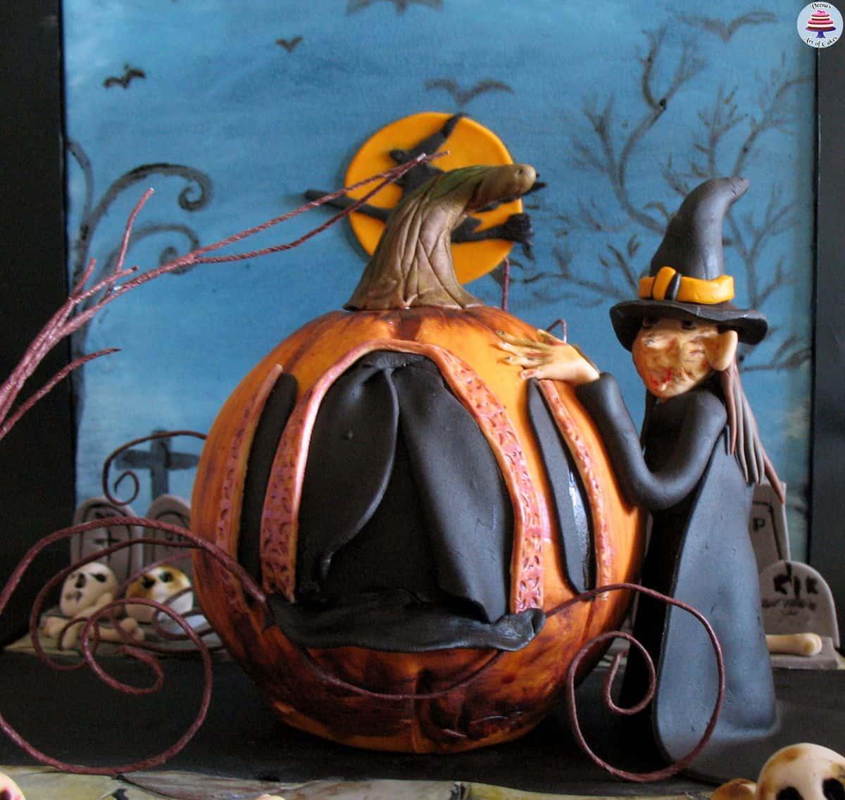 Halloween Witches Pumpkin (48)