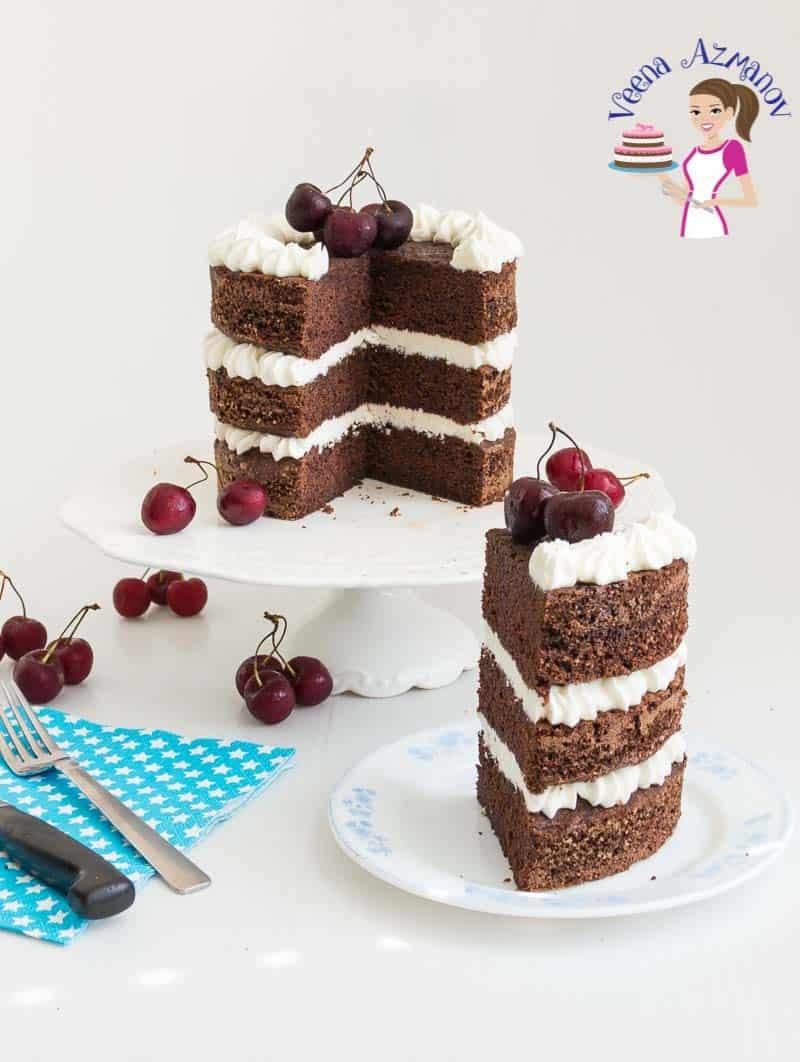 One Bowl Chocolate Cake Recipe from Scratch - Veena Azmanov