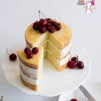 One Bowl Vanilla Cake Recipe from Scratch