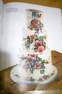 Painting Flowers on Cakes (14)