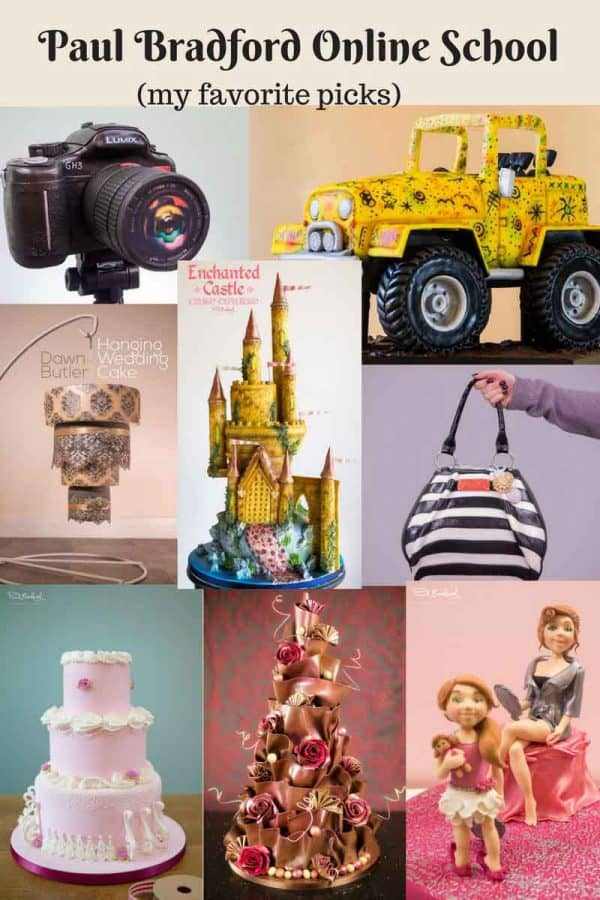 Which is the BEST online Cake Decorating School