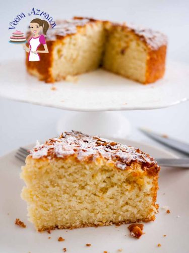 This Is A Quick Easy And Simple Coconut Cake Recipe From Scratch That You Can