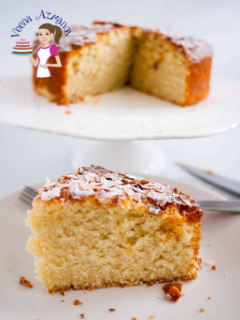Coconut Cake Recipe – Desiccated Coconut Cake