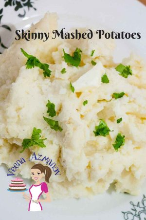 Perfect Homemade Skinny Mashed Potatoes – a Healthier Choice