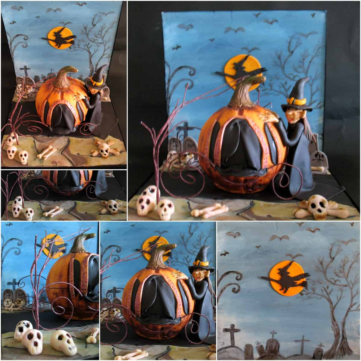 Witches Pumkin Carriage
