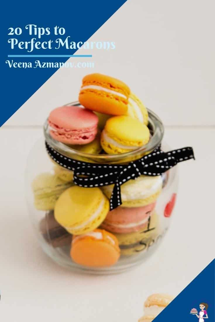 Pinterest image for French Macarons