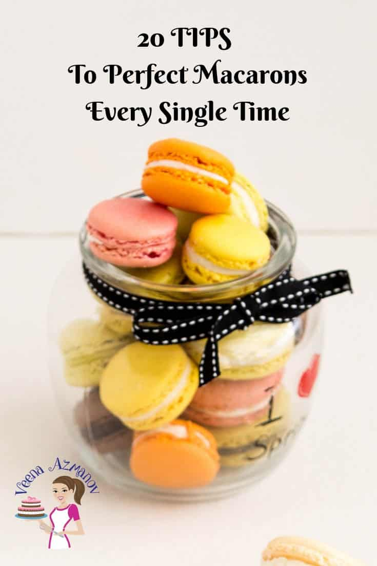 These 20 Tips to perfect macarons with a no-fail macaron recipe and step by step tutorial will have you making perfect macarons every single time.