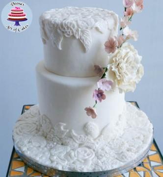 Bas Relief Cake-10