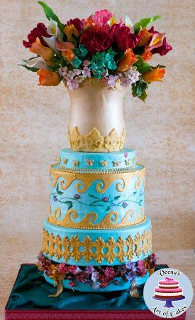 Doweling a Cake