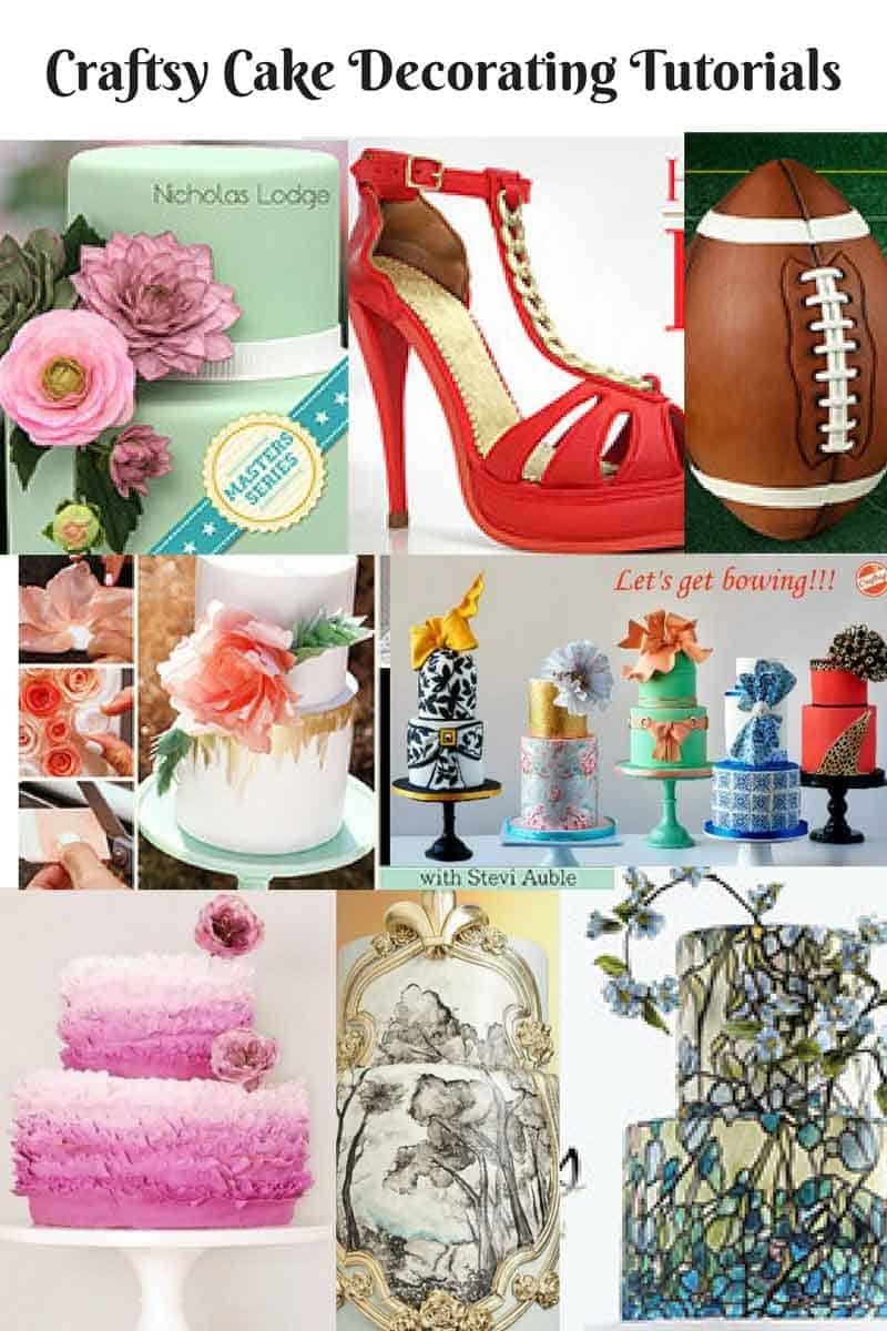 Craftsy Online school is a great resource for any one who wants to take their cake decorating skills to the next level. You buy individual classes so you are not bound by the monthly payments and you can choose just those classes that you want to learn.