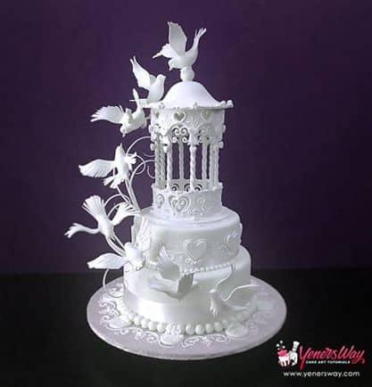Gazebo And Dove Wedding