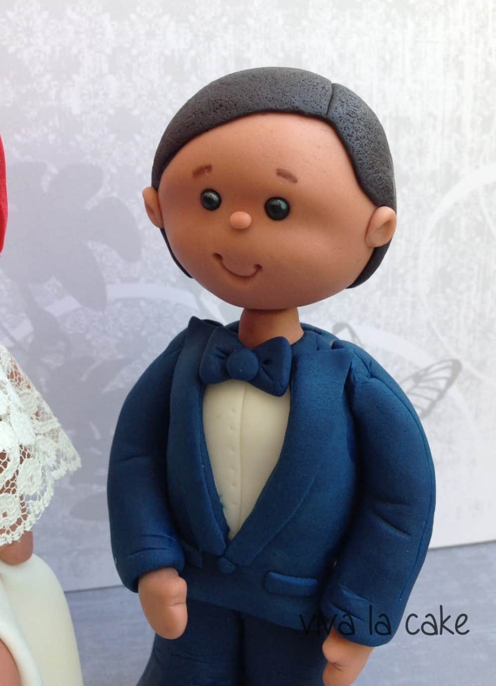Groom Figurine Cake Topper Tutorial