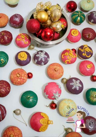 How to make Christmas Ornament Cupcakes – Perfect Holiday Treats