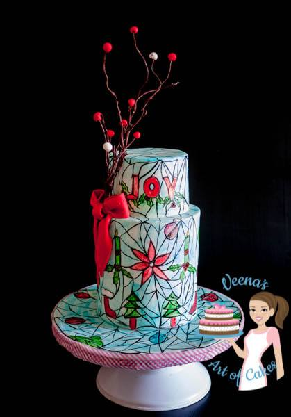 10 tips to making a Stained Glass Cake
