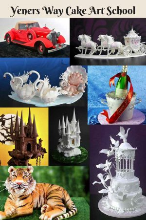 Yeners Way Cake Art Tutorials – Online Cake Decorating School
