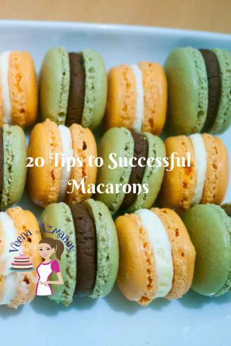 In this 20 tips to perfect French macarons you will find all the little things that you probably took for granted about making French Macarons. They can be intimidating but not difficult. Find out what's keeping you from succeeding, so you can make them perfect every single time.