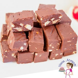 Make this holiday candy in just 3 minutes. Best quick microwave chocolate fudge with just three ingredients.