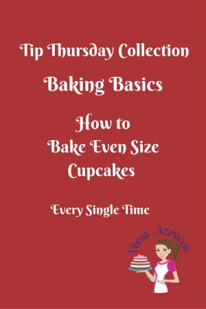 How to Bake Same Size Cupcakes
