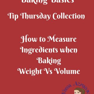 Measuring baking ingredients in a crucial part of the baking process. In some recipes more critical than the others. Which is more accurate, weight or volume? Why? read more in this article.