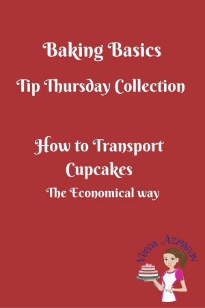How to transport Cupcakes the most economical way
