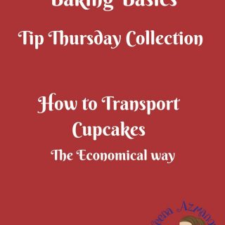 The easiest way to transport cupcakes is a cupcake box! but what if you do not have one? Here is a simple easy and economical way to transport your cupcakes and not have them go spat by the end of your trip.