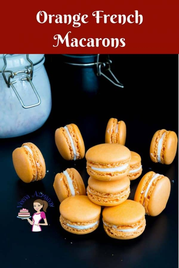 Orange French macarons are a delicacy on their own. Often filled with orange curd, marmalade,and buttercreams that almost melts in the mouth. My full proof macaron recipe is simple, easy and effortless that will have you making macarons over and over again successfully.